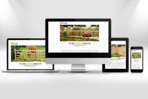 PEON Polskie Drewno Ogrodowe Strona Internetowa